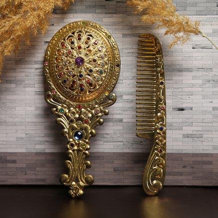ست آینه و شانه سلطنتی کد 4276
