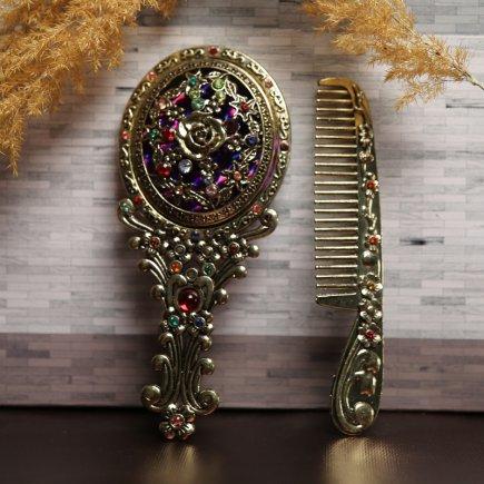 ست آینه و شانه سلطنتی کد 4278
