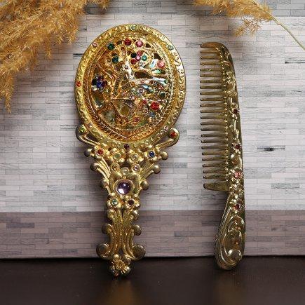 ست آینه و شانه سلطنتی کد 4283