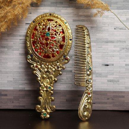 ست آینه و شانه سلطنتی کد 4284