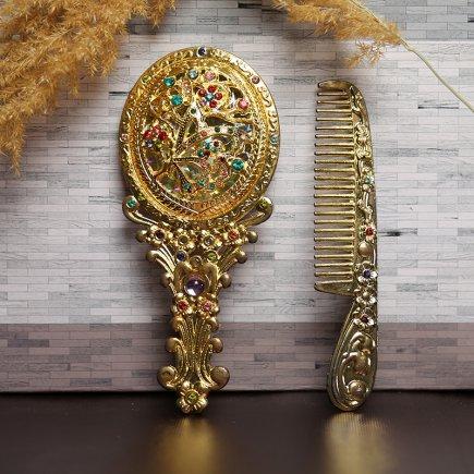 ست آینه و شانه سلطنتی کد 4288