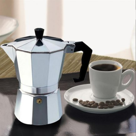 قهوه جوش اسپرسو ساز دستی مدل 6 Cup