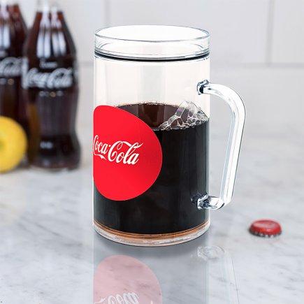 لیوان دوجداره طرح کوکاکولا