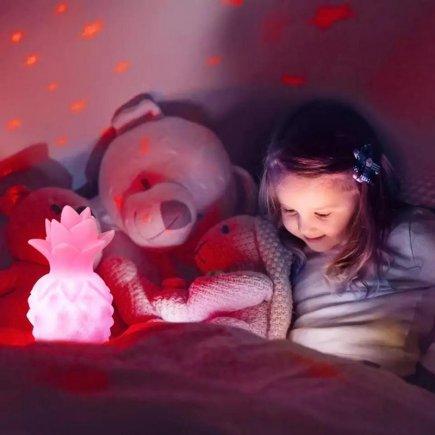 چراغ خواب کودک طرح آناناس مدل PL3