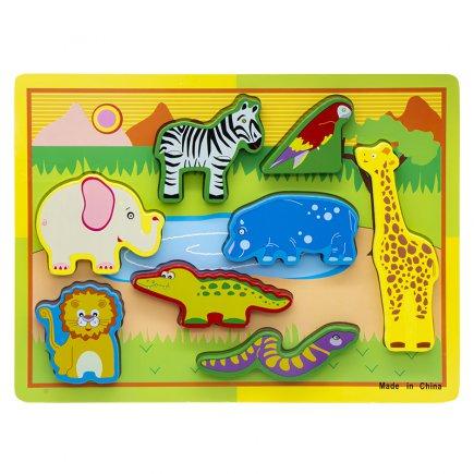 بازی آموزشی طرح حیوانات جنگل کد 4504
