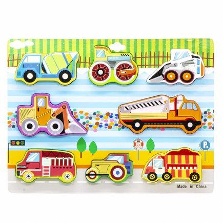 بازی آموزشی طرح وسایل نقلیه سنگین