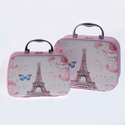 کیف لوازم آرایش دو تکه