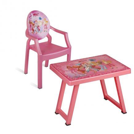 میز و صندلی کودک طرح وینکس کد 4930