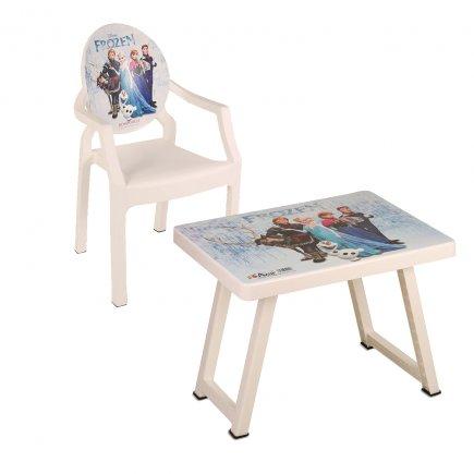 میز و صندلی کودک طرح فروزن کد 4933