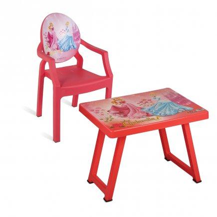 میز و صندلی کودک طرح پرنسس کد 4935