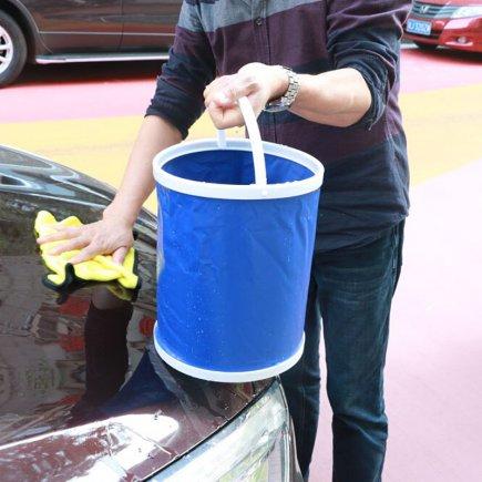 سطل جمع شونده دسته دار کد 4962