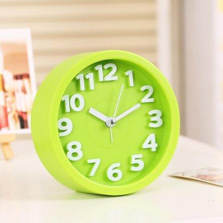 ساعت زنگ دار رومیزی ساده کد 5120