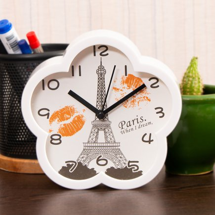 ساعت زنگ دار طرح پاریس کد 5308