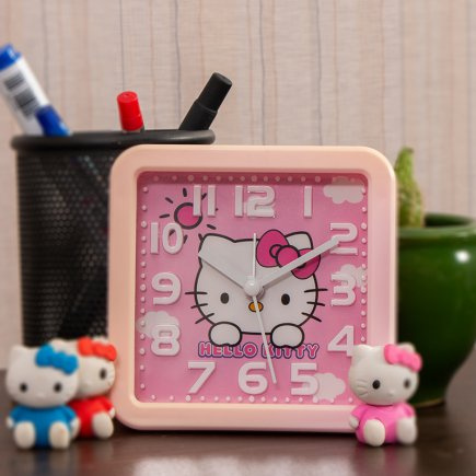 ساعت زنگی HELLO KITTY کد 5310