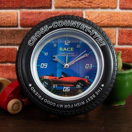 ساعت زنگ دار تایر بزرگ طرح مرسدس کد 5319