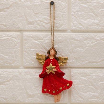 آویز مجسمه طرح فرشته کد 5348