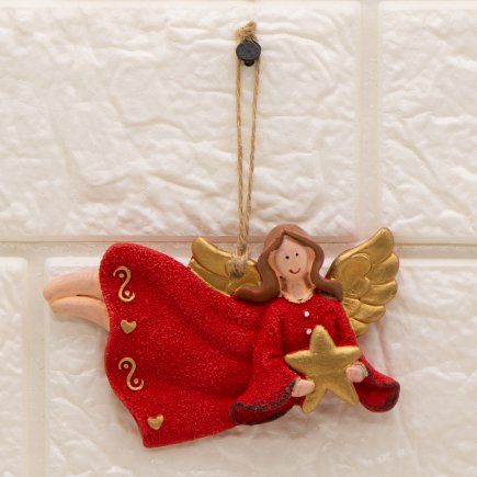 آویز مجسمه طرح فرشته کد 5349