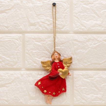 آویز مجسمه طرح فرشته کد 5350
