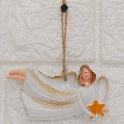 آویز مجسمه طرح فرشته کد 5362