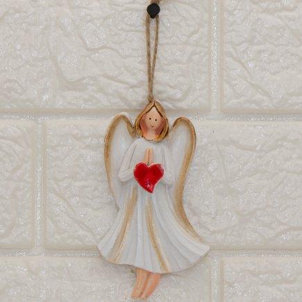 آویز مجسمه طرح فرشته کد 5363