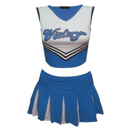 ست تاپ و دامن زنانه ای اند تی مدل Victory رنگ آبی