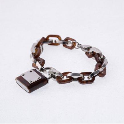 دستبند زنجیری طرح قفل