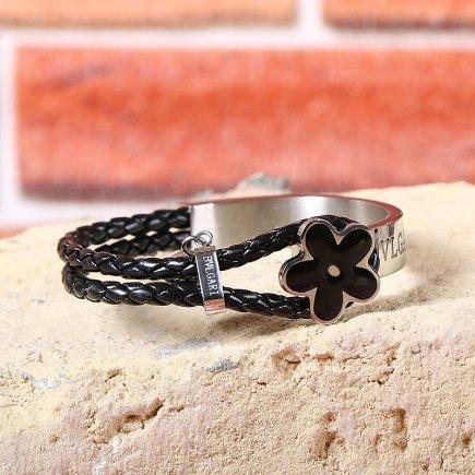 دستبند مدل گل یاس 1