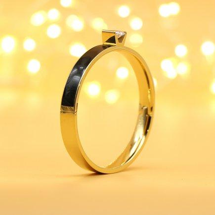 دستبند طرح الماس کد 1456