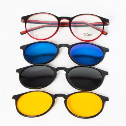 فریم عینک طبی اوزن کد 313/2 به همراه 3 کاور