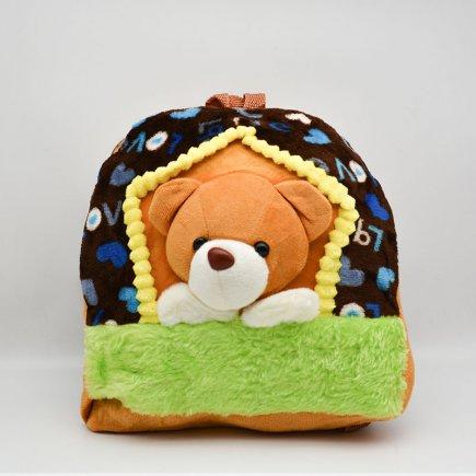 کوله پشتی عروسکی طرح خرس کد 1668