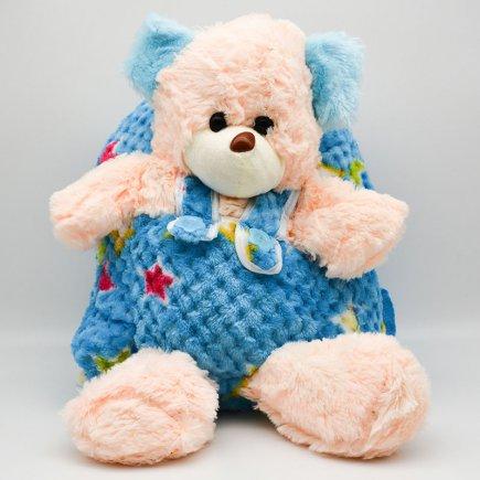 کوله پشتی عروسکی طرح خرس کد 1680