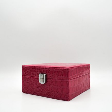 جعبه جواهرات چرمی