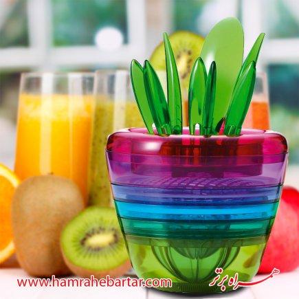 سبد 10 کاره میوه و سبزیجات