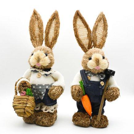 دکوری خرگوش دوتایی