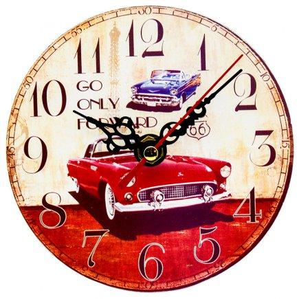 ساعت رومیزی طرح Classic car کد 306