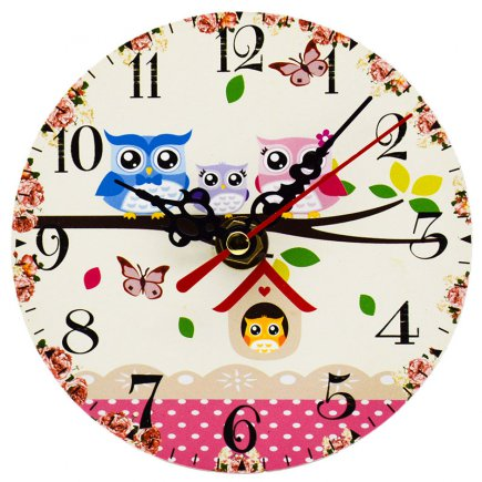 ساعت رومیزی طرح Owl کد 301
